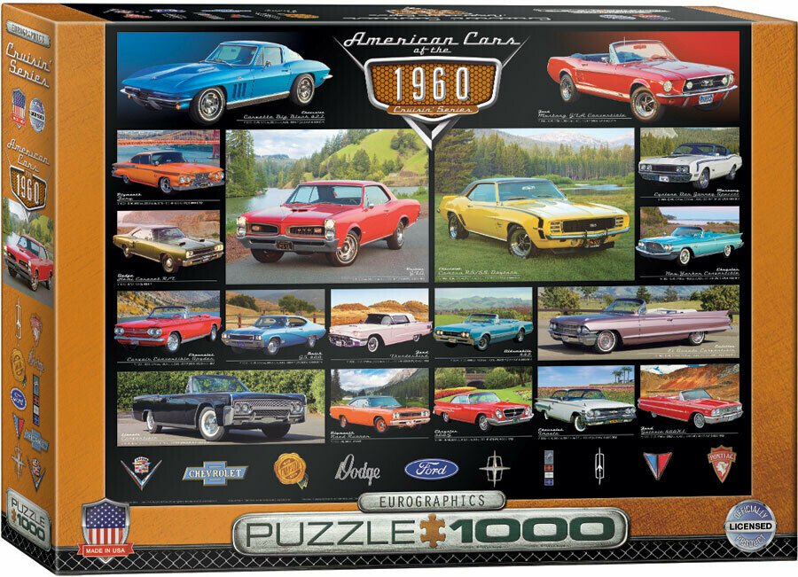 American Cars Of The 1960s 1000 Pc