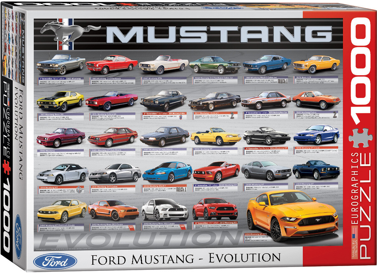 Ford Mustang Evolution 1000 Pc