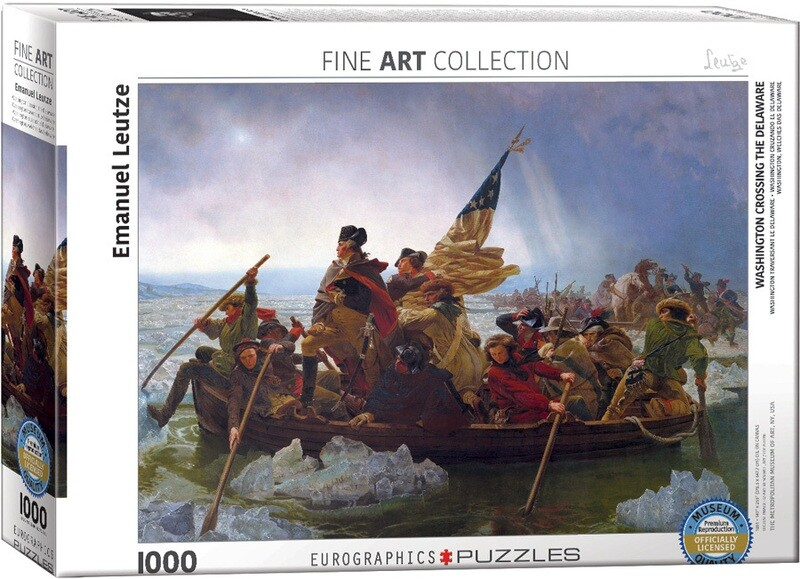Washington Crossing The Delaware. 1000 Pc