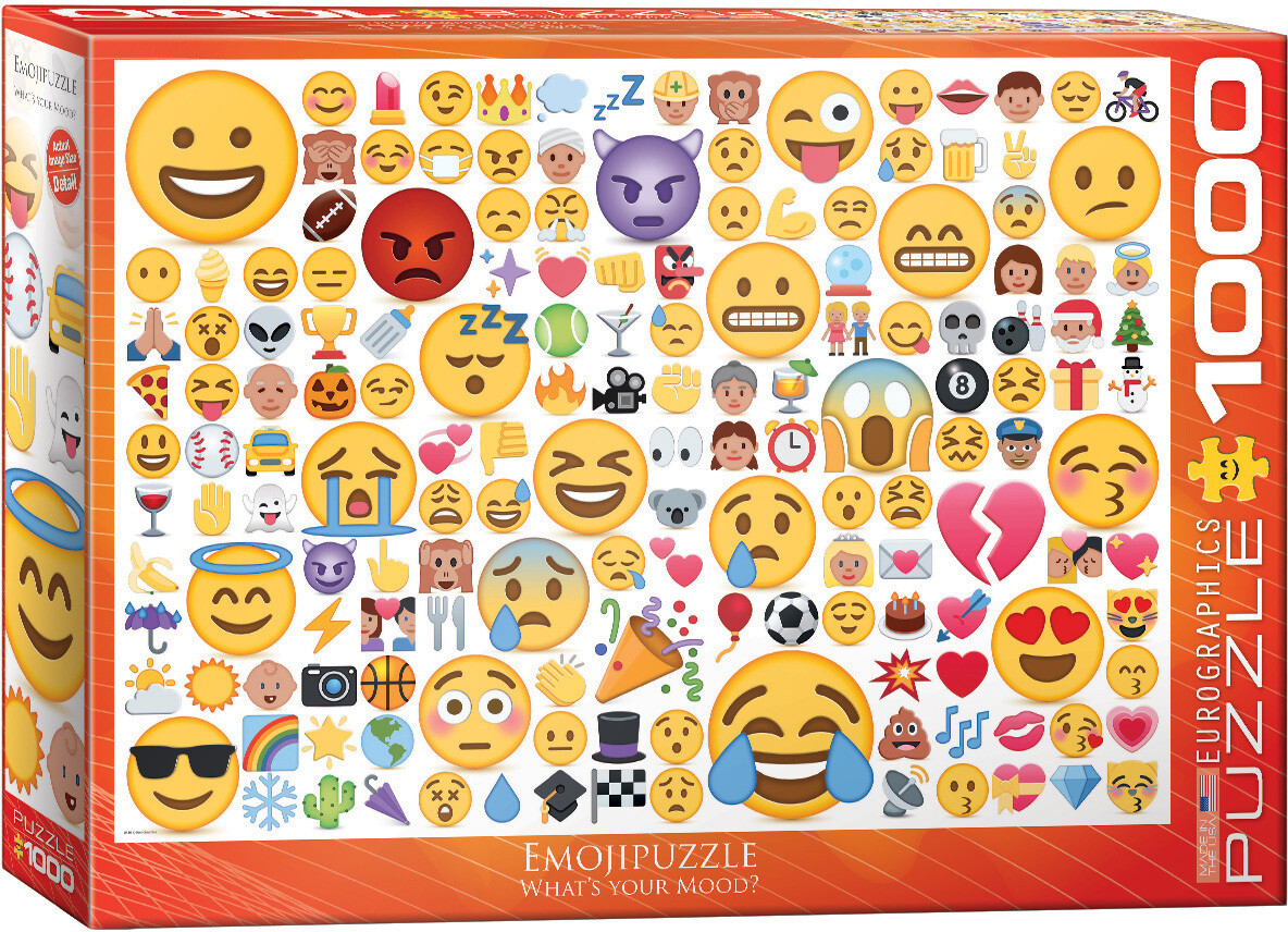 Emojipuzzle Whats Your Mood? 1000 Pc