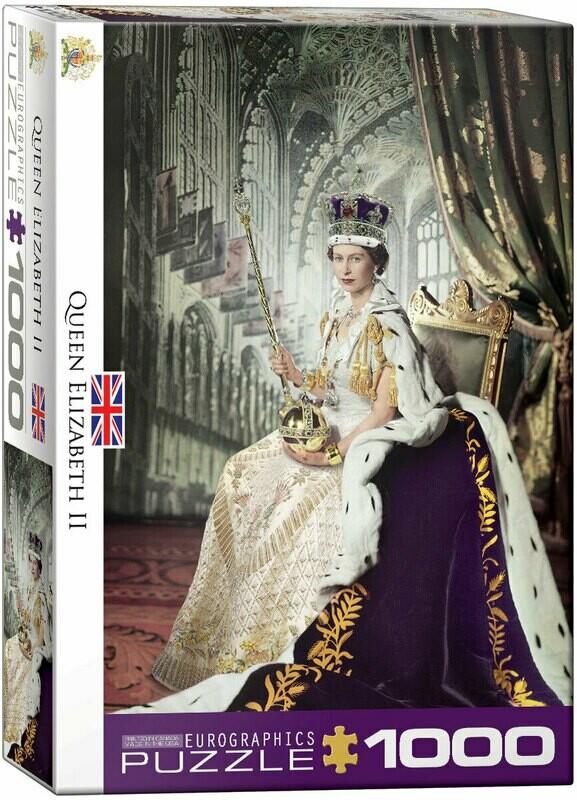 Queen Elizabeth 1000 Pc