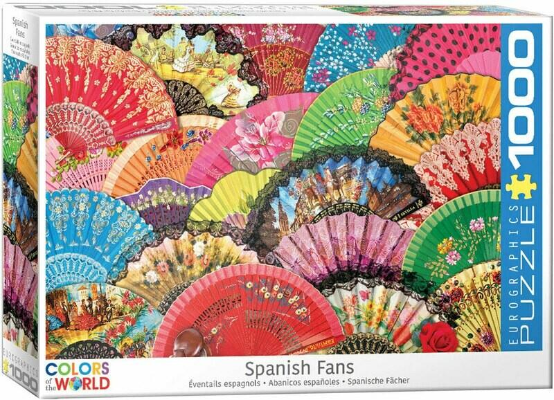 Spanish Fans  1000 Pc