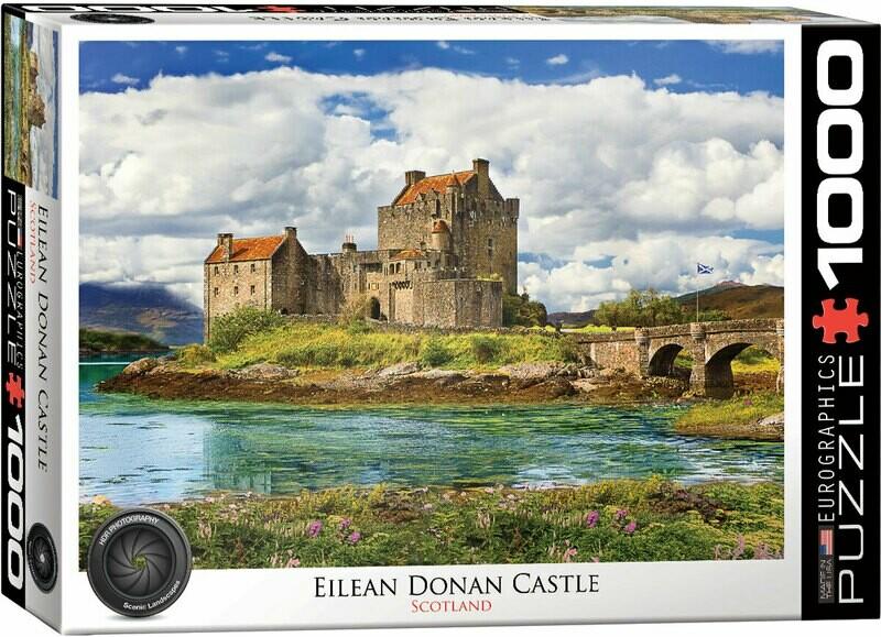 Eilean Donan Castle Scotland 1000 Pc