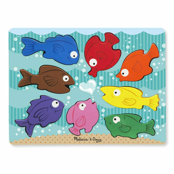 Colorful Fish Chunky 8 Pc