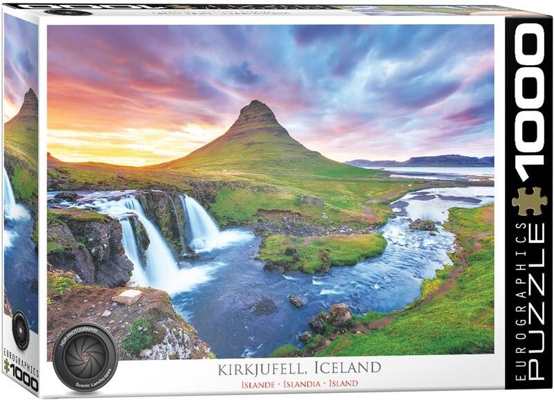Kirkjufell, Iceland  1000 Pc