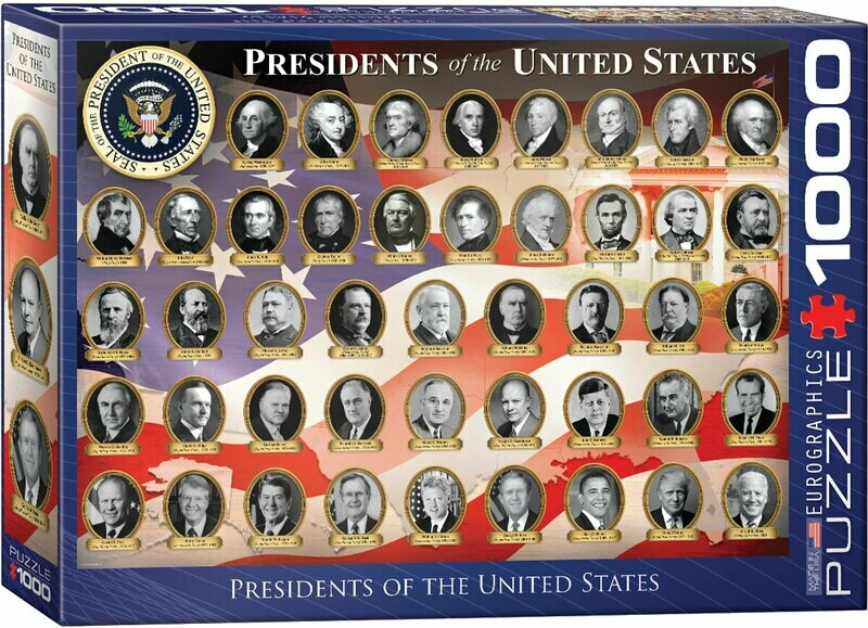 Presidents Of The United States 1000 Pc