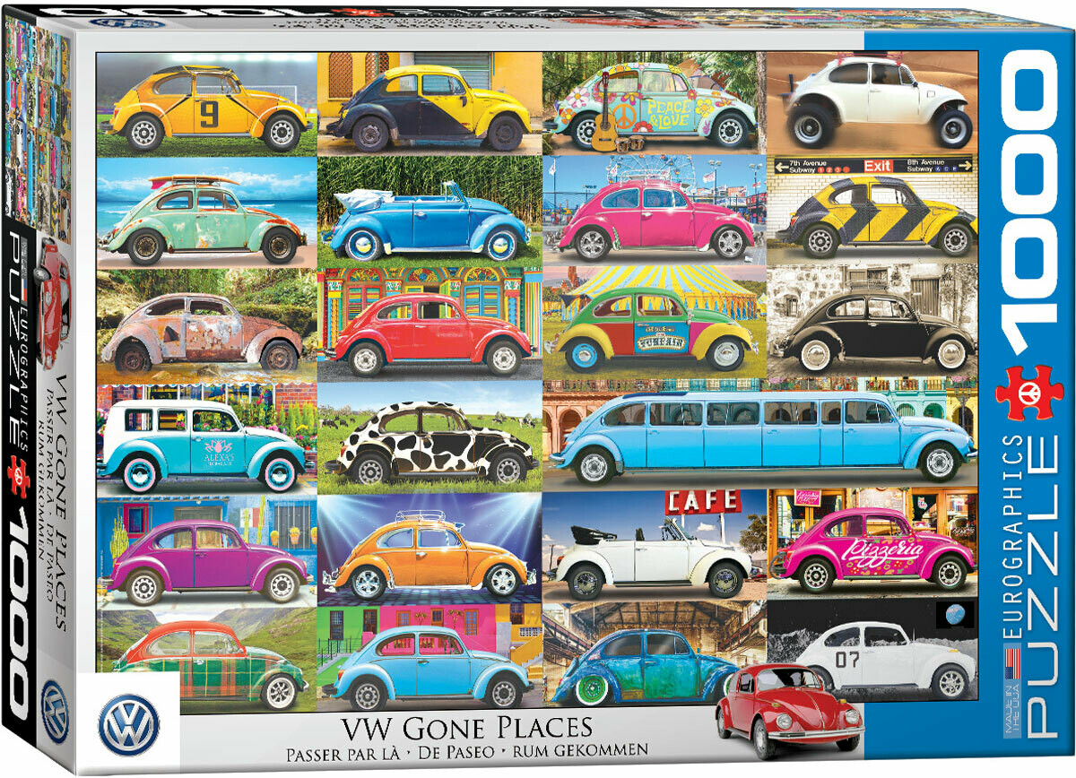VW Gone Places 1000 Pc