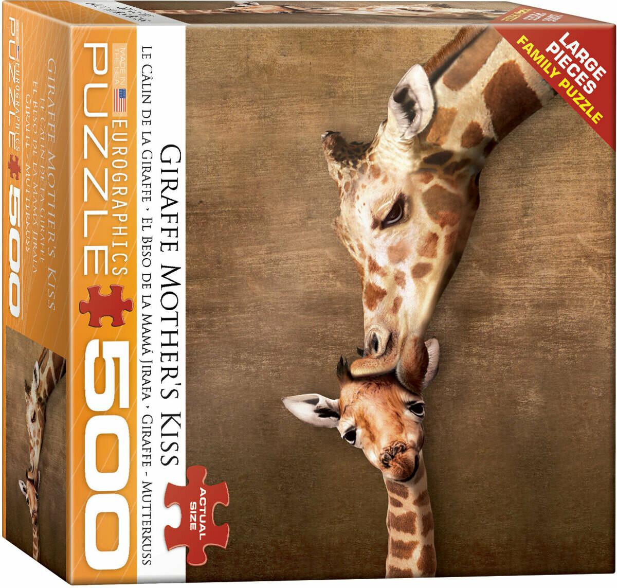 Giraffe Mother's Kiss 500 Pc