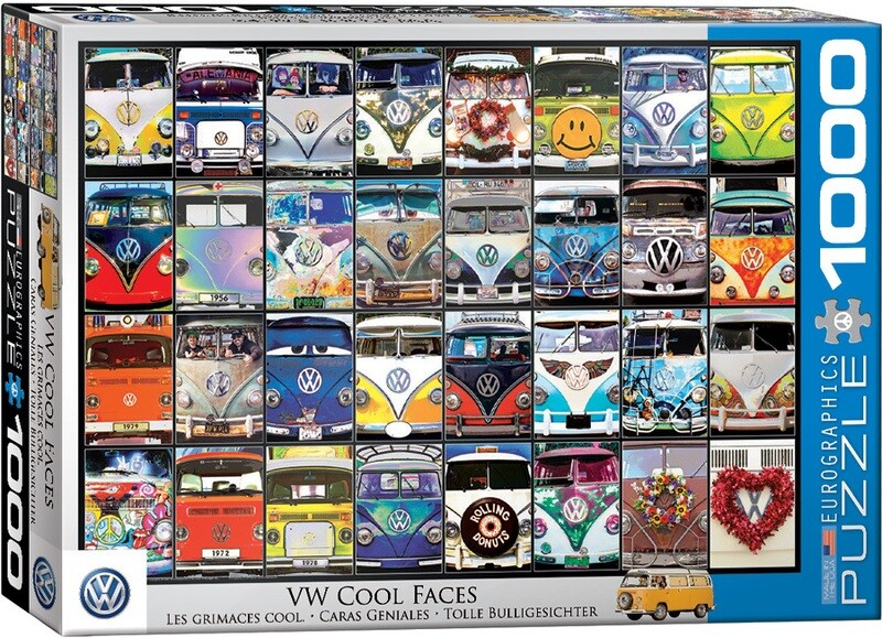 VW Cool Faces  1000 Pc