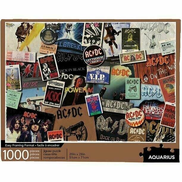 AC DC Albums 1000 Pc