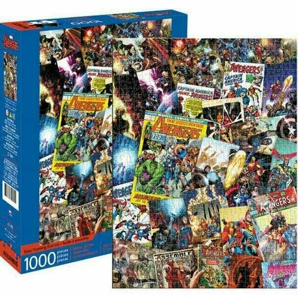 Avengers Comic Book Covers 1000 Pc