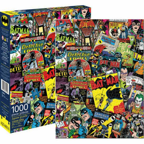 Batman Comics Collage 1000 Pc