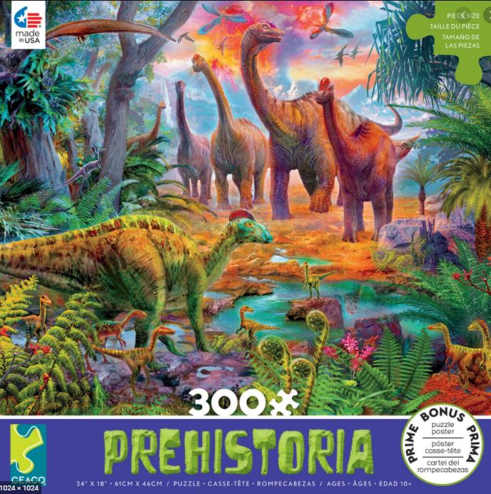 Sauropod 300 Pc