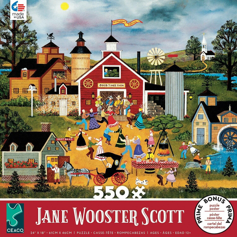 Jane Wooster Scott Dancing Up A Storm 550 Pc