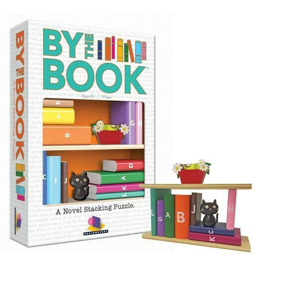 By The Book Stacking Puzzle
