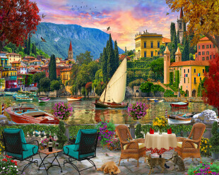 Al Fresco Italy 1000 Pc