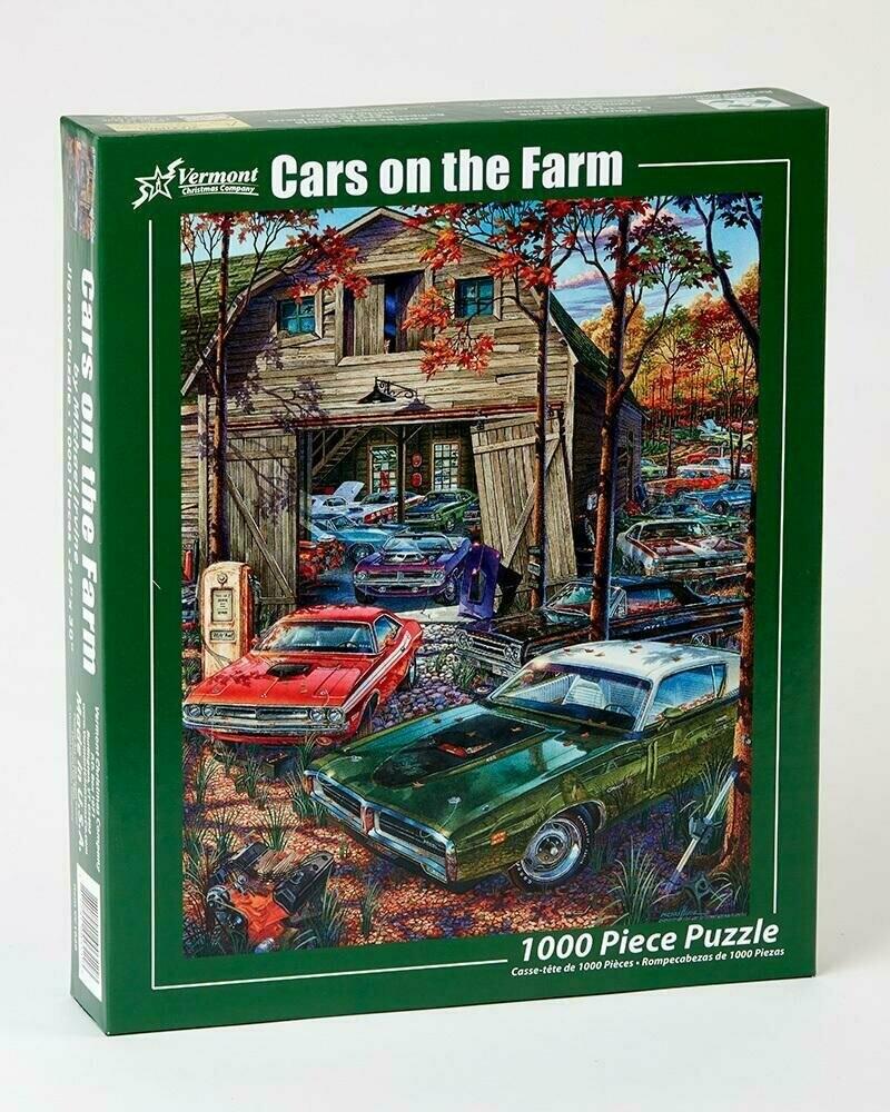 Cars On The Farm 1000 Pc