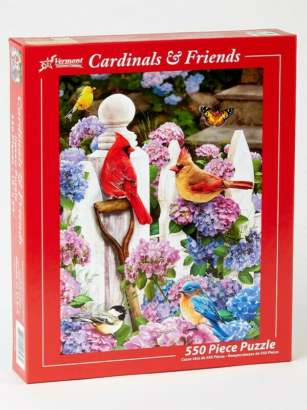 Cardinals And Friends 550 Pc