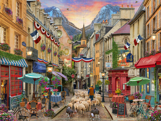 French Village 550 Pc