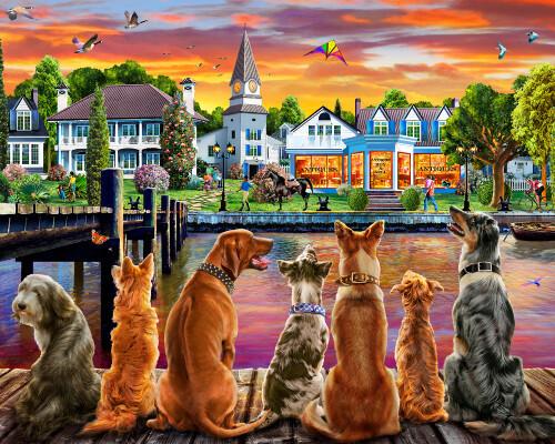 Dockside Dogs 1000 Pc