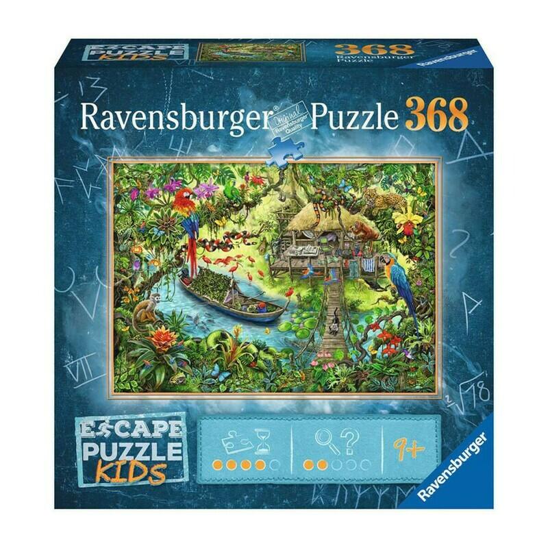 Escape  Jungle Journey 368 Pc