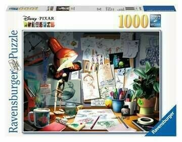 Disney The Artist's Desk 1000 Pc