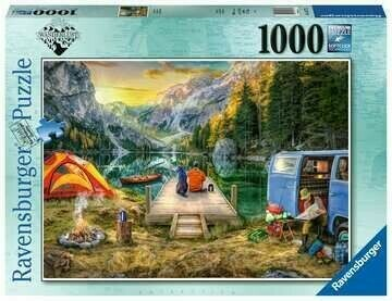 Calm Campsite 1000 Pc