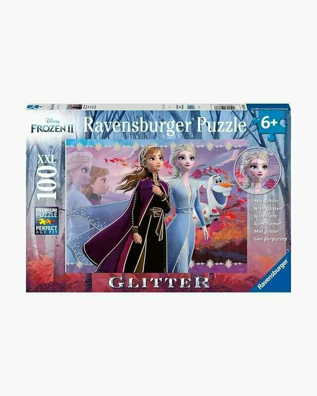 Strong Sisters Glitter Disney 100 Pc