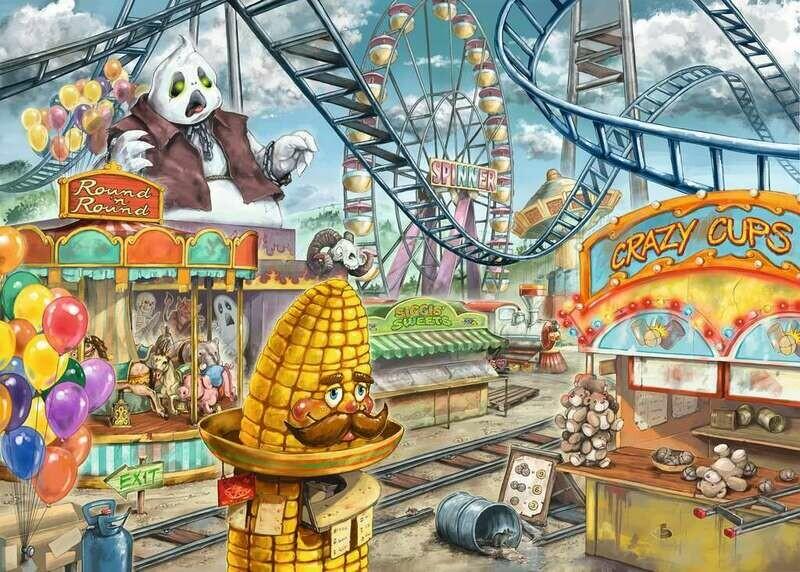 Escape Amusement Park Plight 368 Pc