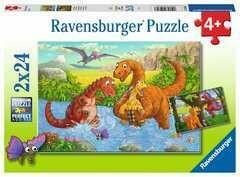 Dinosaurs At Play 2 X 24 Pc