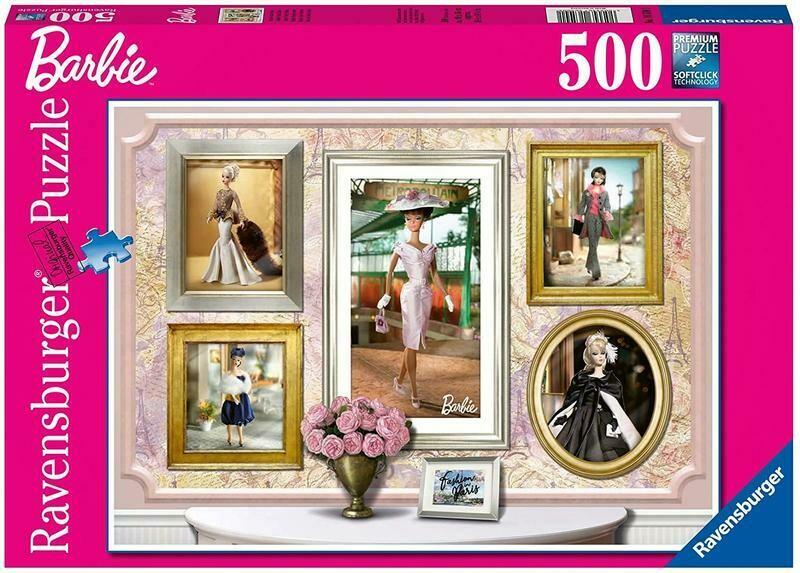 Barbie Paris Mode 500 Pc