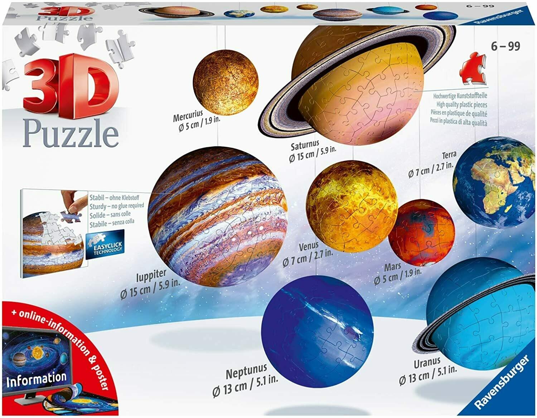 Solar System 3D Kit 540 Pc