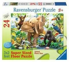 Jungle Juniors 24 Pc Floor