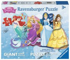 Pretty Princesses 24 Pc Floor