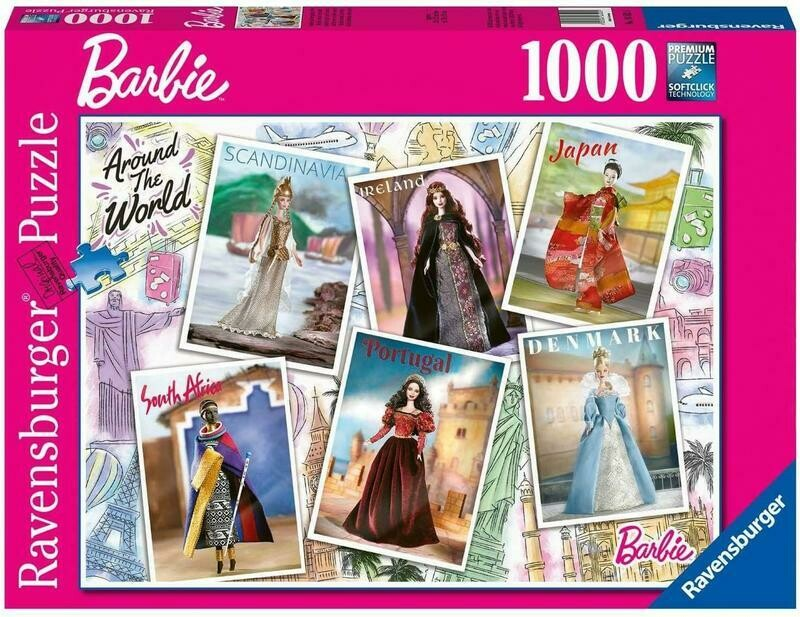Barbie Around The World 1000 pcs