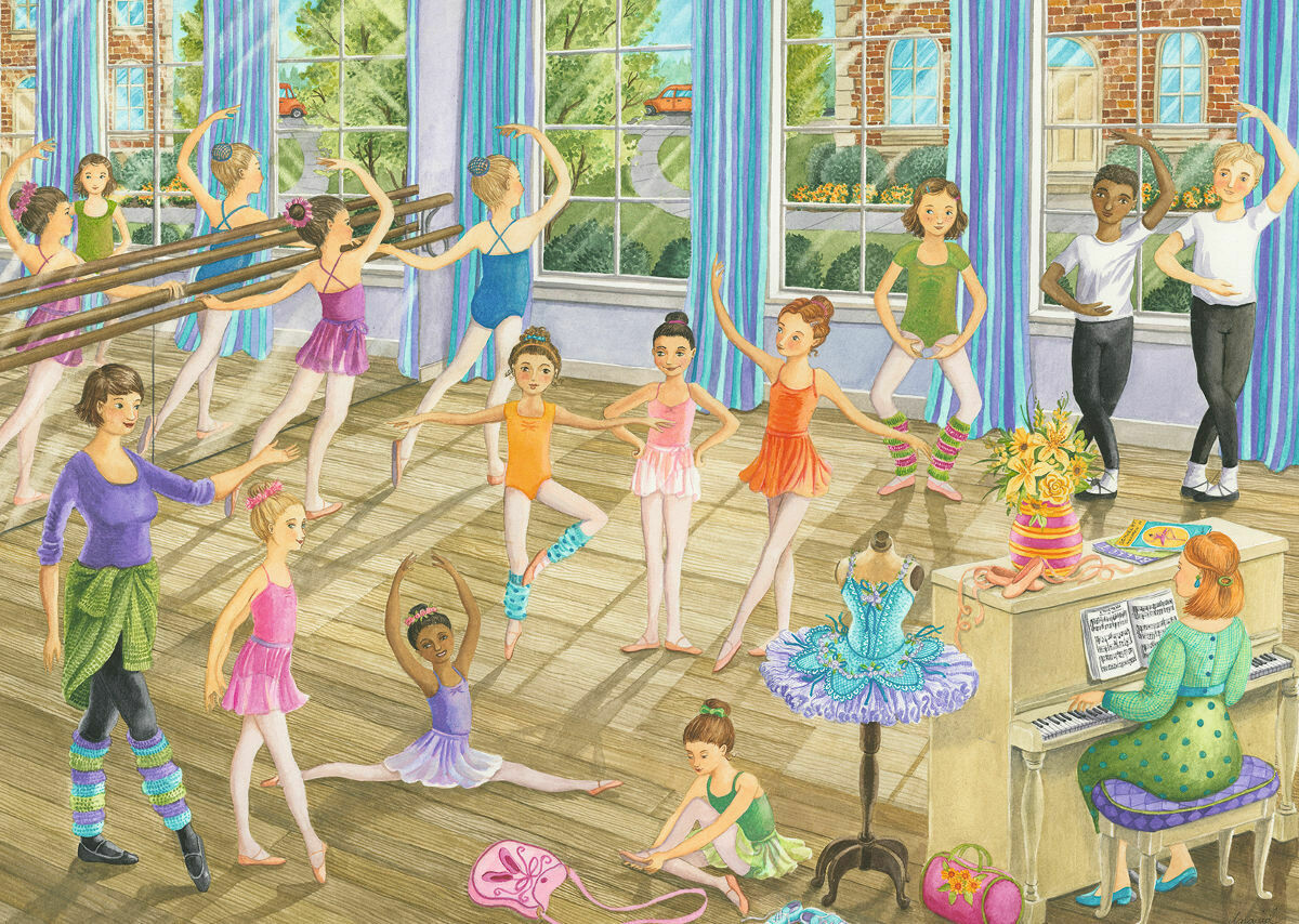 Ballet Lesson 35 Pcs