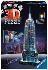 3D Night Empire State Building 216 Pc