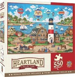 Balloons Over The Bay 550 Pc