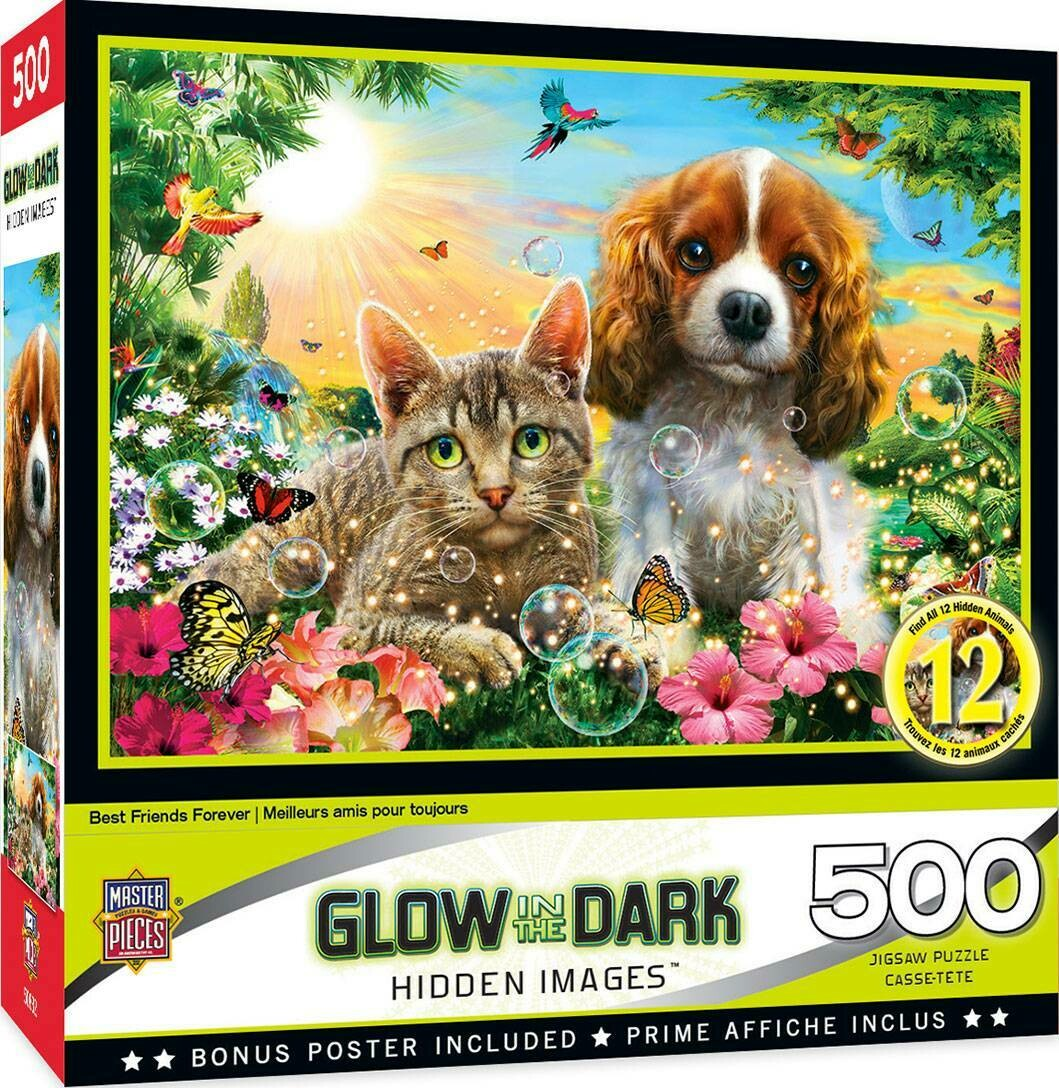 Best Friends Forever Glow 500 Pc