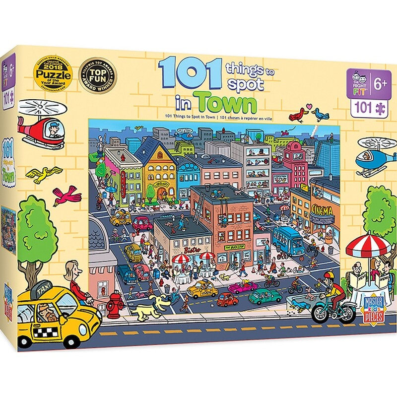 101 Things To Spot In Town 101 Pc