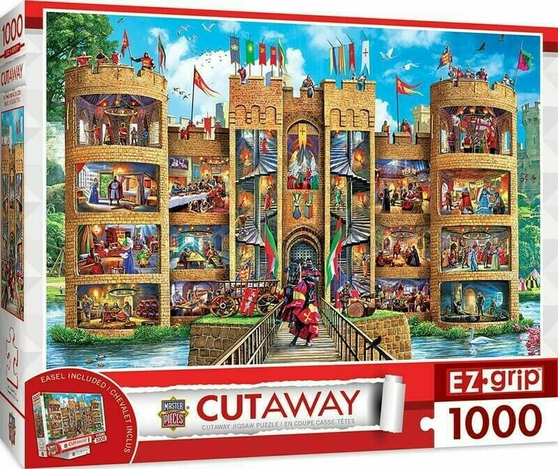 Medieval Castle 1000 Pc Large Pc