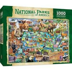 National Parks Of America 1000 Pc