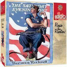 Rosie The Riveter 1000 Pc