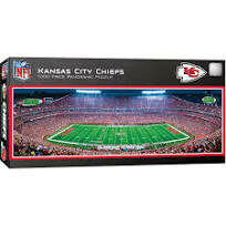 Kansas City Chiefs Stadium 1000 Pc