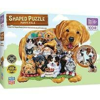 Puppy Pals 100 Pc Shaped