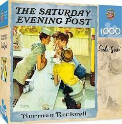 The Saturday Evening Post Soda Jerk 1000 Pc