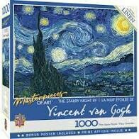 The Starry Night 1000 Pc