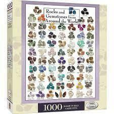 Rocks And Gemstones From Around The World 1000 Pc