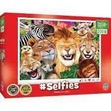 Safari Smiles Selfies  200 Pc