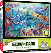 Sea Castle Delight Glow 500 Pc